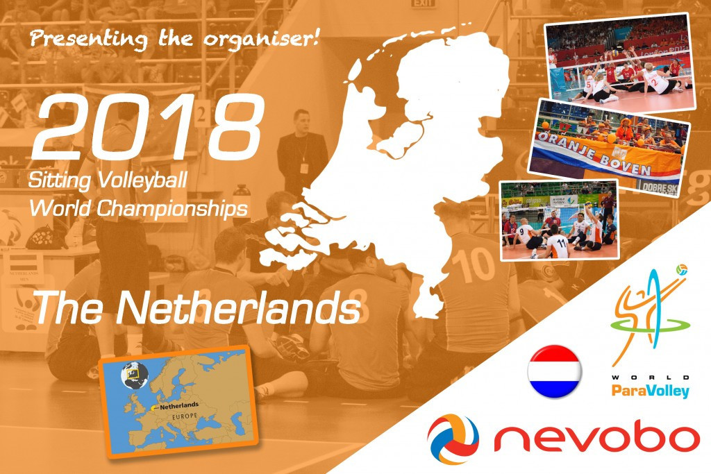 The Netherlands will host next year's Sitting Volleyball World Championships ©World ParaVolley