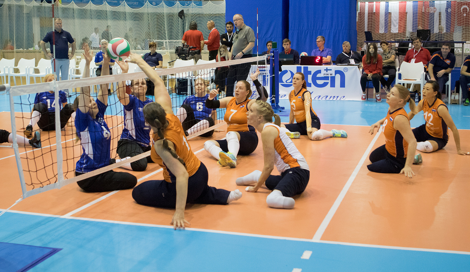 The Netherlands won bronze at the recent European Sitting Volleyball Championships in Croatia ©Euro Sitting Volley