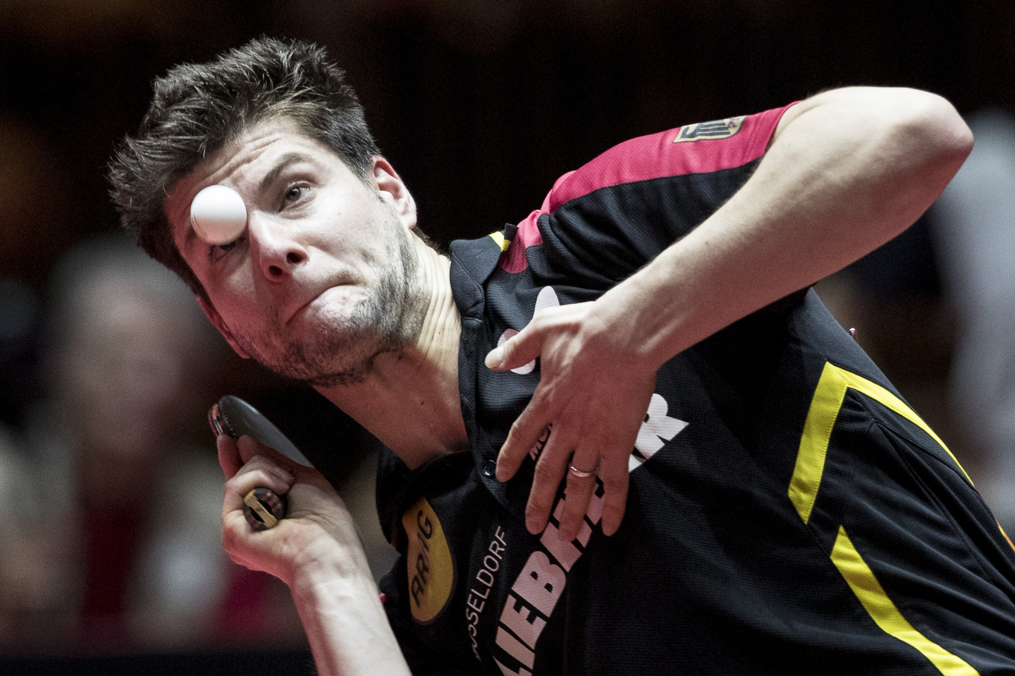 Germany's Dimitrij Ovtcharov, pictured, and China's Chen Meng are the new ITTF world number ones ©Getty Images