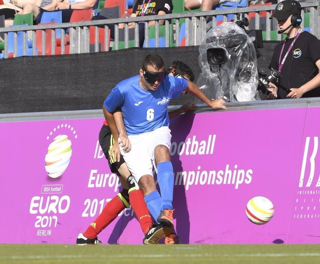 The International Blind Sports Federation has highlighted the rise of blind football ©Ralf Kuckuck/Berlin 2017