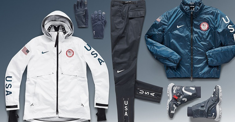 The United States Olympic Committee and Nike have unveiled the medal ceremony uniforms American athletes will wear at the 2018 Winter Olympic and Paralympic Games in Pyeongchang ©Nike