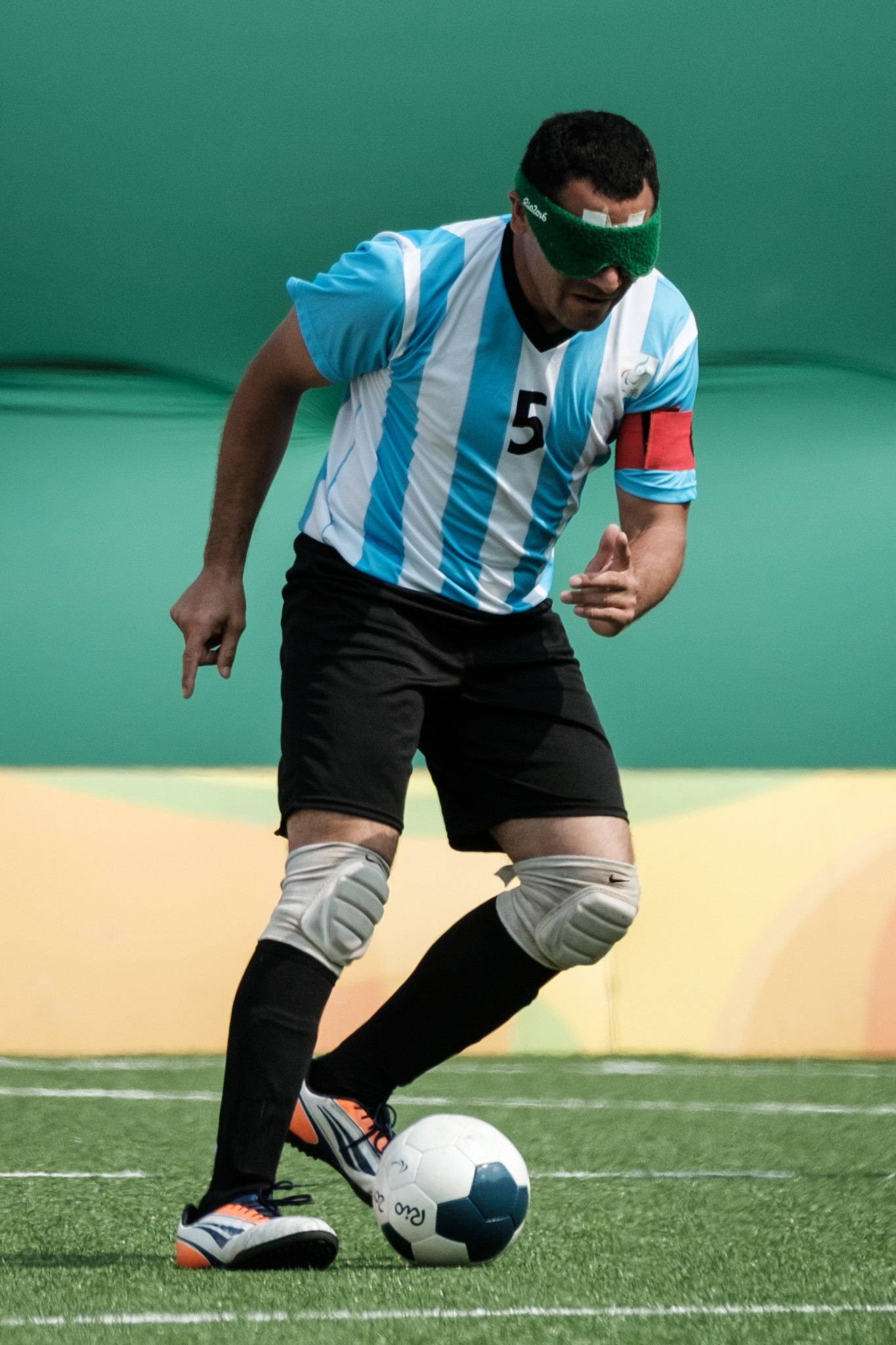 Argentinean blind footballer Silvio Velo is in contention for the December prize ©Getty Images