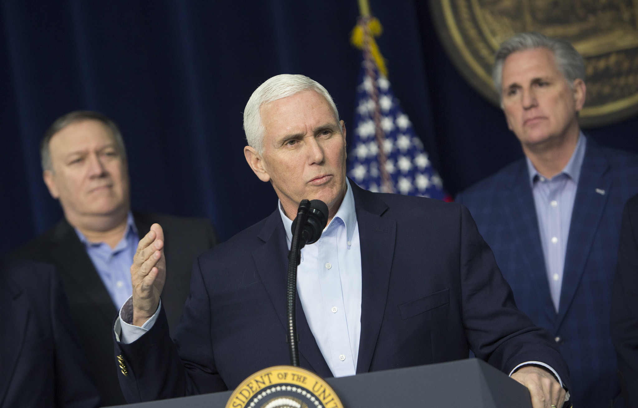 Vice President Mike Pence is expected to lead the US delegation at Pyeongchang 2018 ©Getty Images