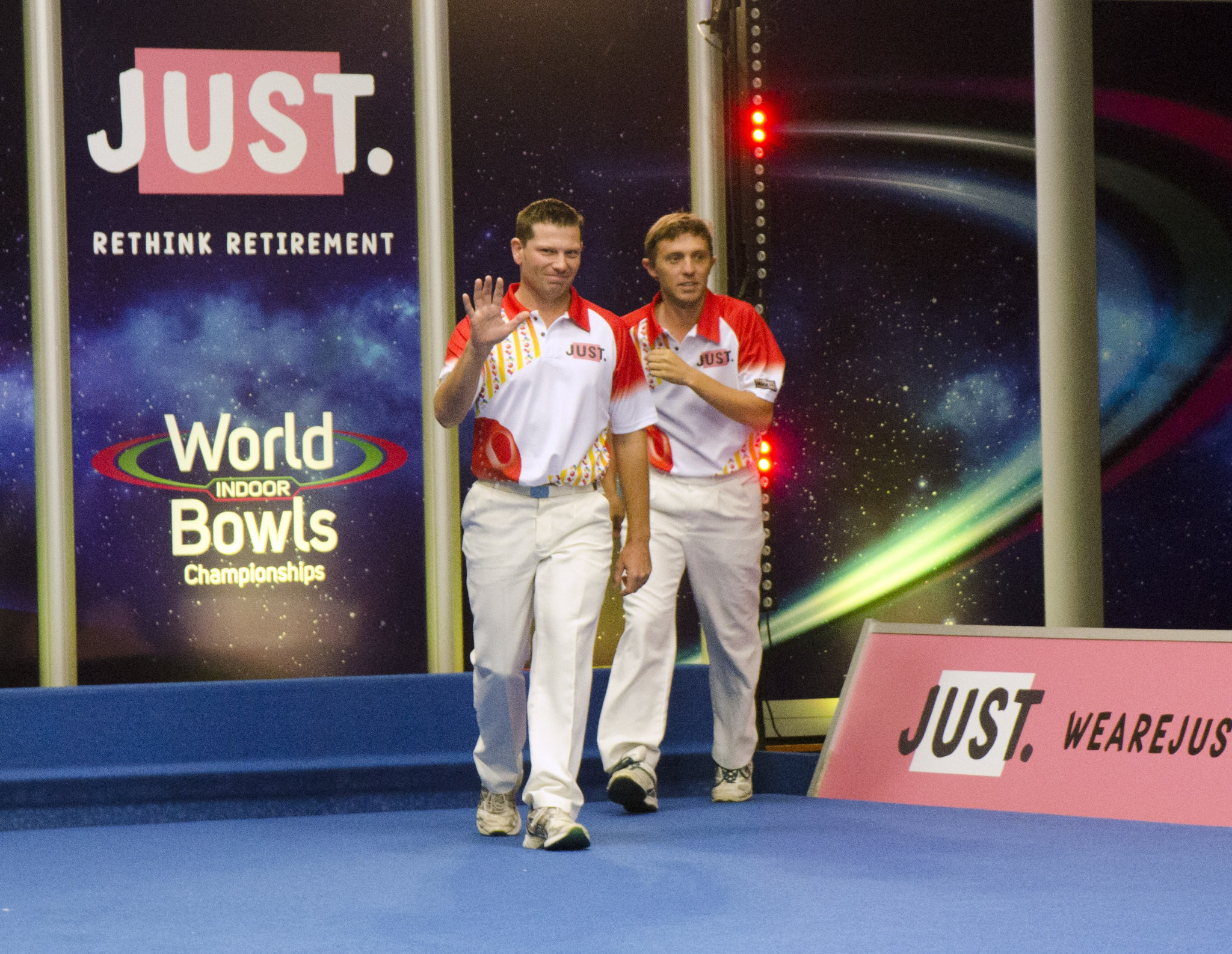 Australian duo Healey and Walker victorious at the 2018 World Indoor Bowls Championships
