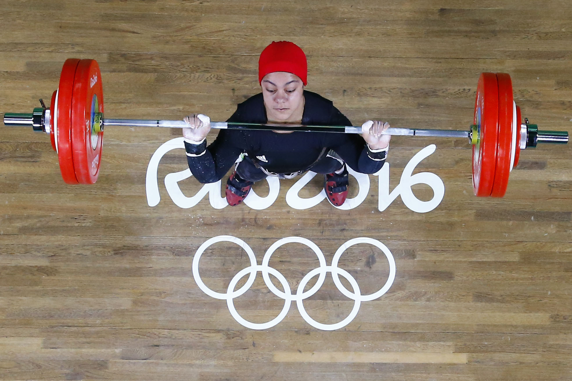 Sara Ahmed's Olympic medal has helped inspire Iran to launch their women's weightlifting programme ©Getty Images
