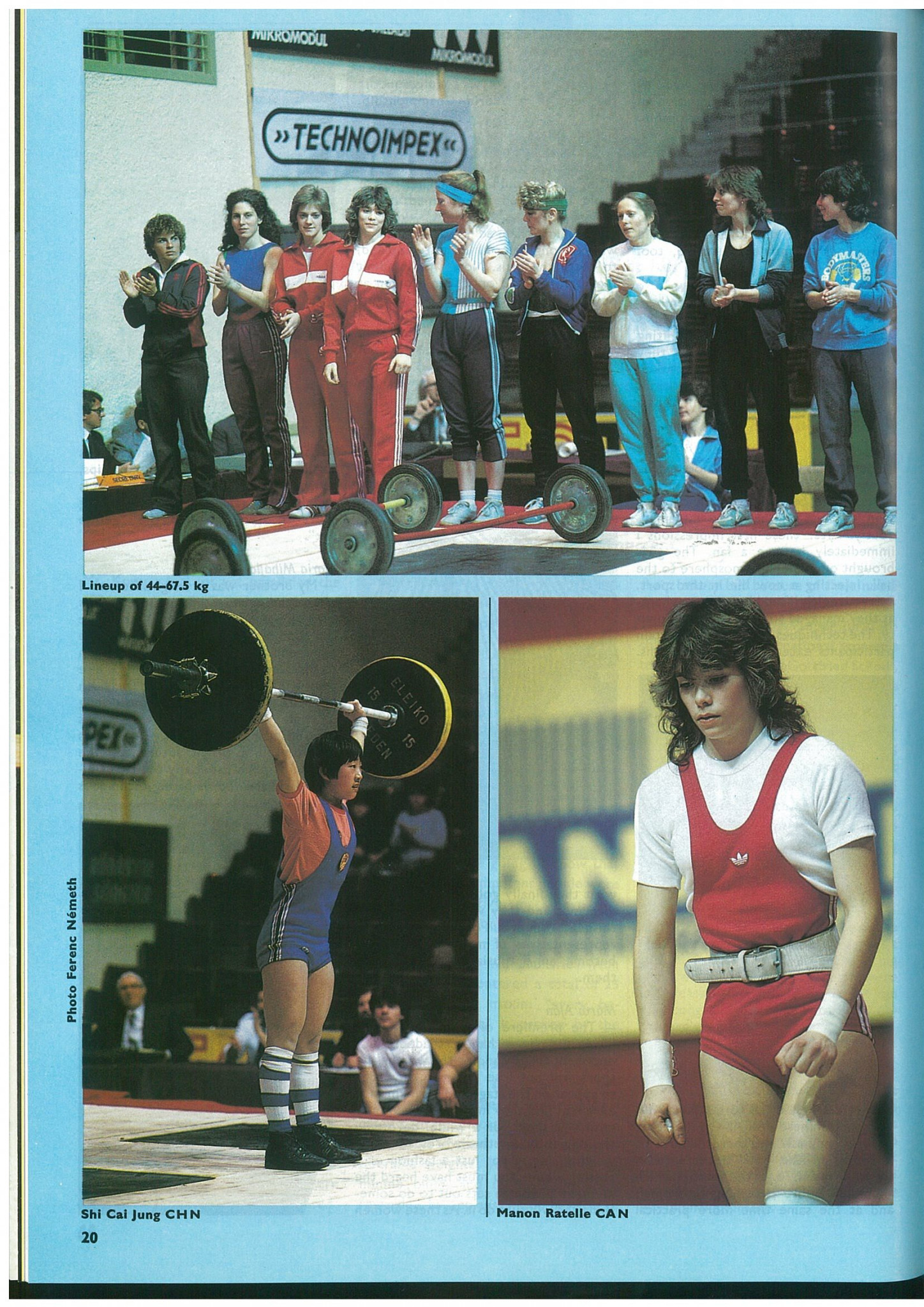 The Pannonia Cup was the first women's International Weightlifting Federation event ©IWF