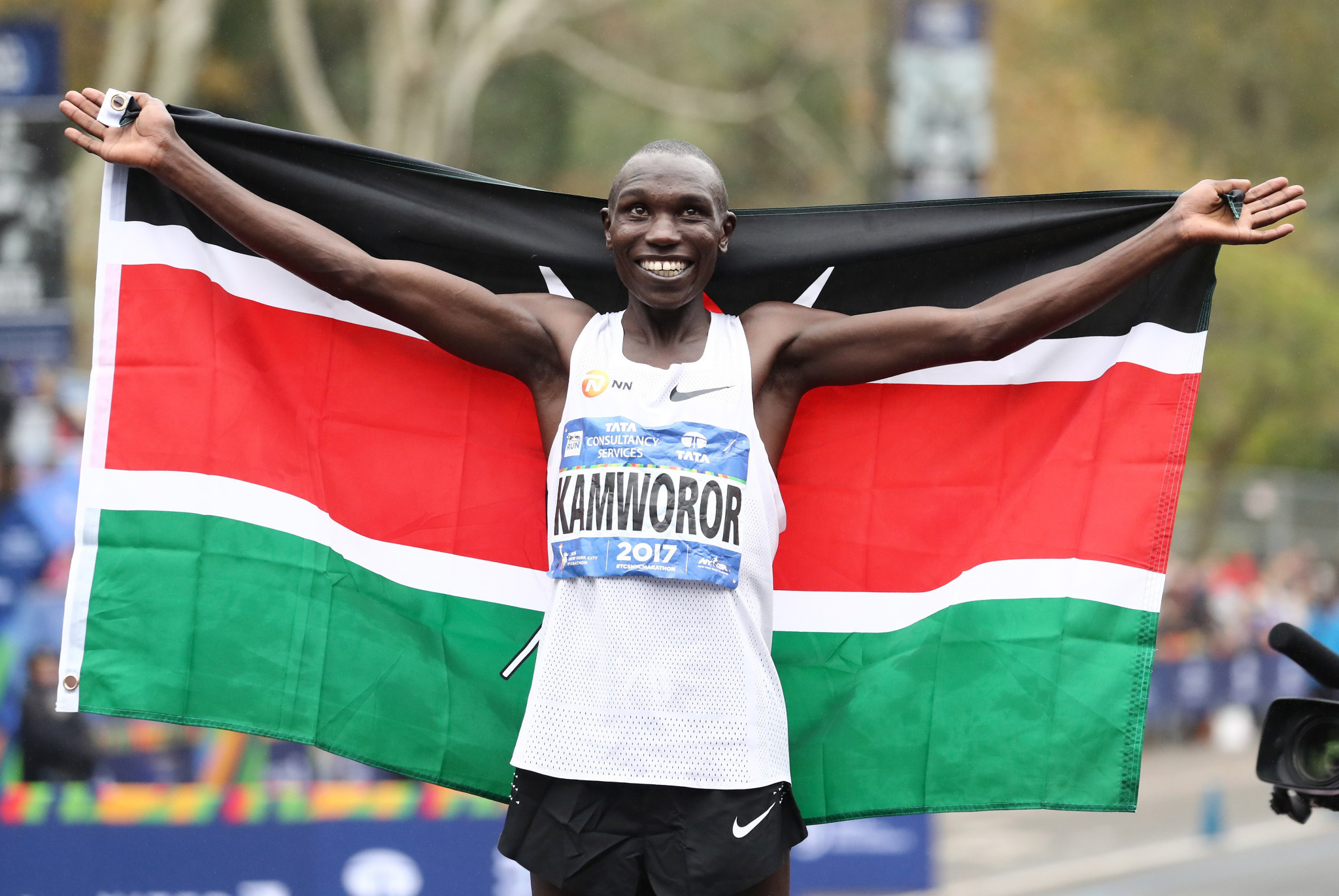 World half marathon record holder Kamworor sustains head and ankle injuries after being hit by motorcycle