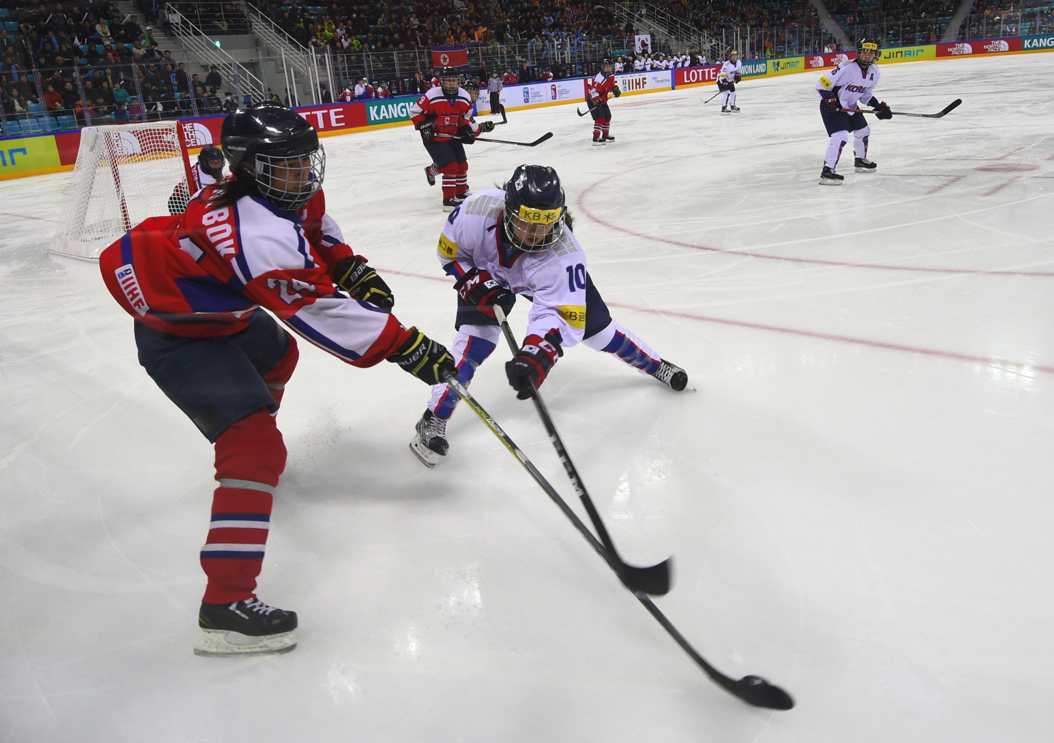 South Korean women's ice hockey coach Sarah Murray has criticised a proposed joint team with North Korea at next month's Winter Olympic Games in Pyeongchang ©Getty Images