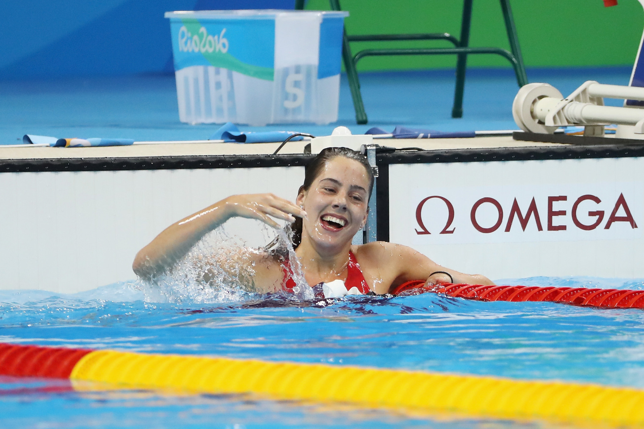 Aurélie Rivard will headline the Canadian Para-swimming team at Gold Coast 2018 ©Getty Images