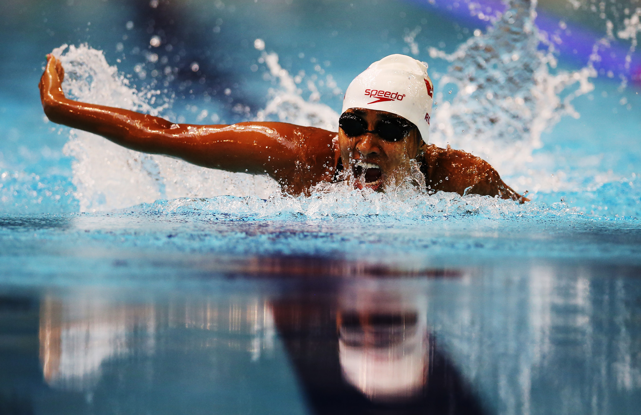 Katarina Roxon won the Paralympic gold medal in the SB8 100 metres breaststroke at Rio 2016 ©Getty Images