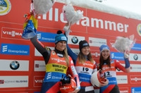 Fourth Luge World Cup win in Lillehammer boosts Britcher's Pyeongchang 2018 prospects