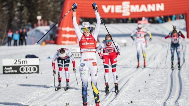 Swedes and Norwegians shine at FIS Cross-Country World Cup in Planica