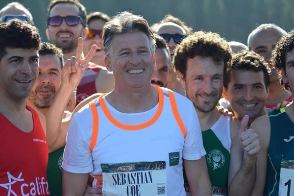 Sebastian Coe participated in the cross-country running talks ©Getty Images