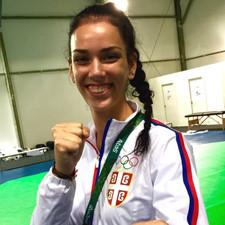 Tijana 'Tica' Bogdanovic: Serbian Schoolgirl Wins Silver Medal