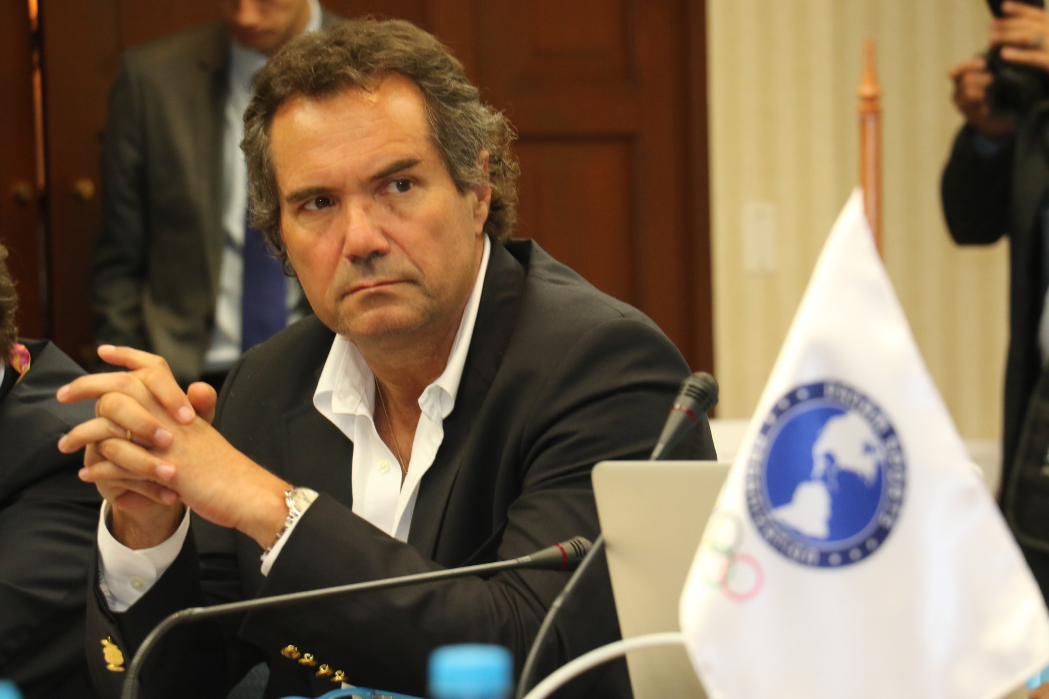 """PanAmSports President Neven Ilic has warned that """"time is scarce"""" in preparing for the Lima 2019 Pan American Games ©PanAmSports"""