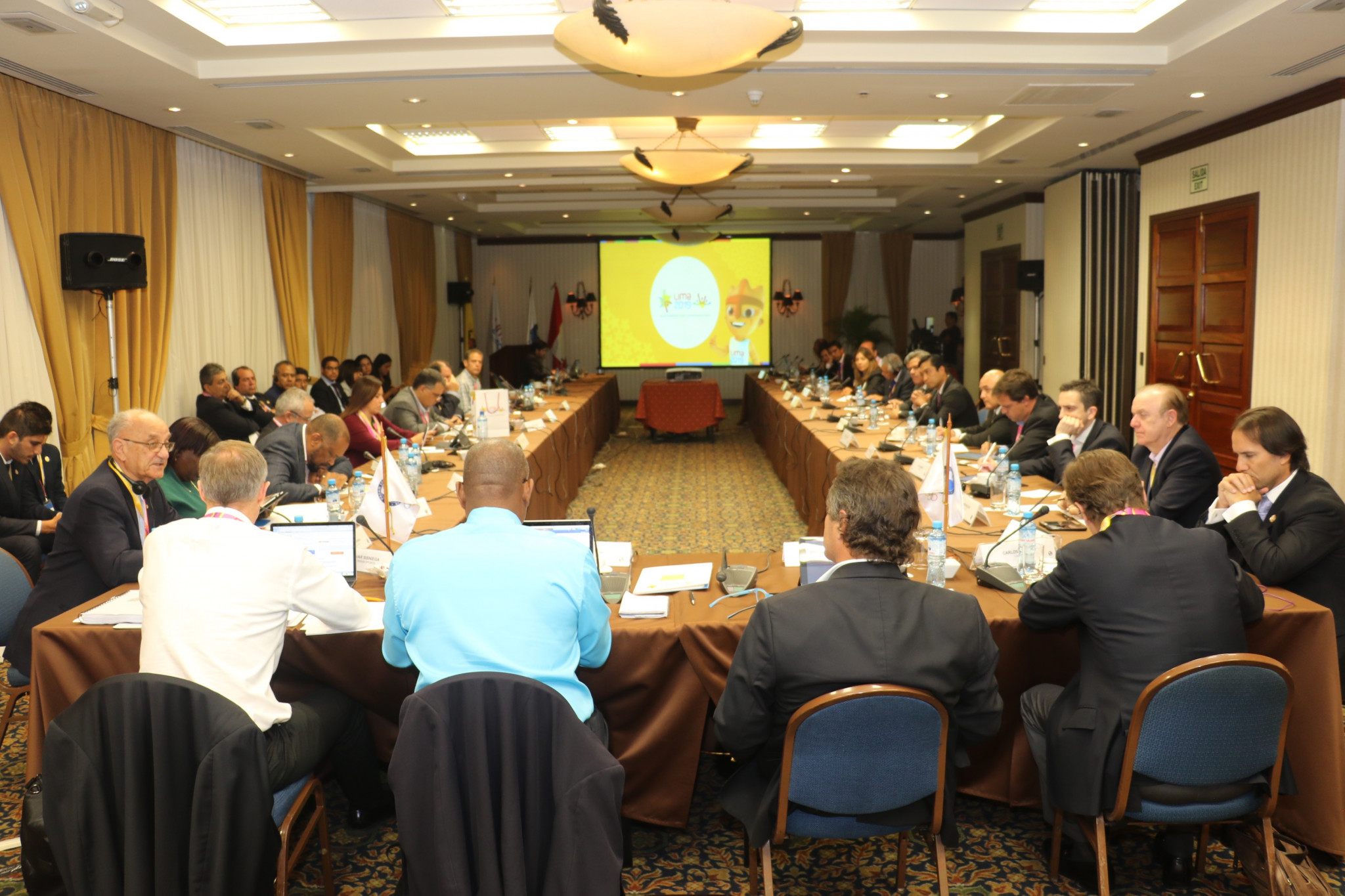 The sixth meeting of the Lima 2019 Coordination Commission took place in the Swissotel in the San Isidro district ©PanAmSports