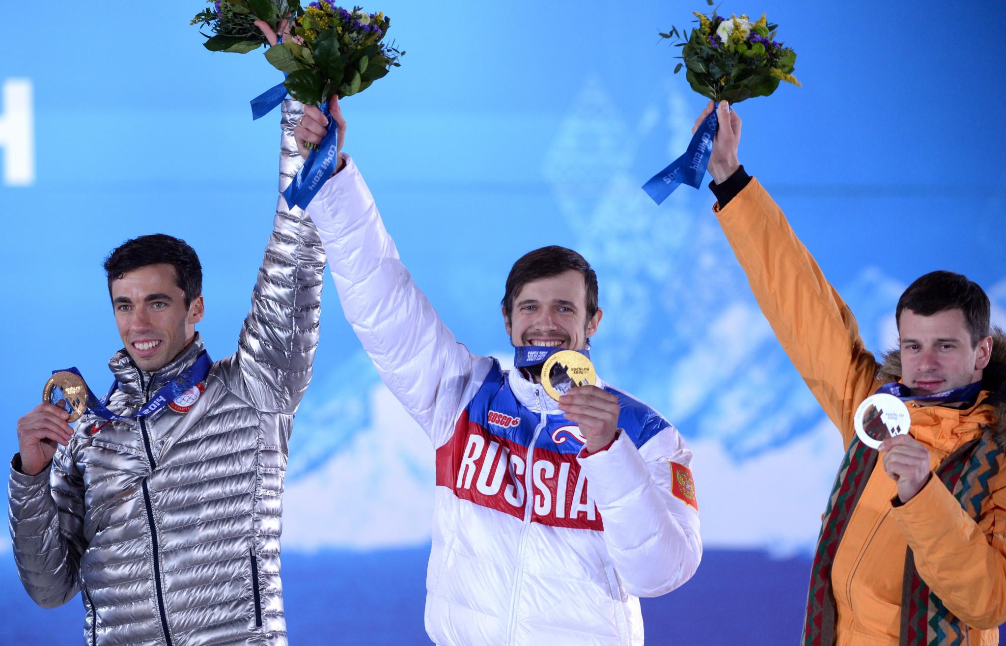 Sochi 2014 skeleton gold medallist Aleksander Tretiakov is among the 28 athletes to have their sanction overturned ©Getty Images