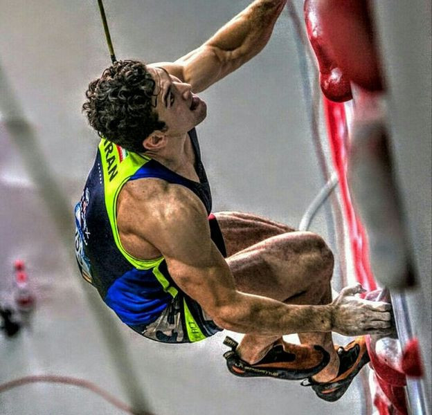 Reza Alipour has won three World Championships medals ©IFSC