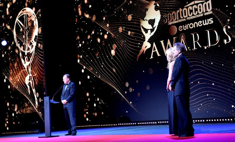 Wlazly and Humphries take top prizes at inaugural SportAccord Awards