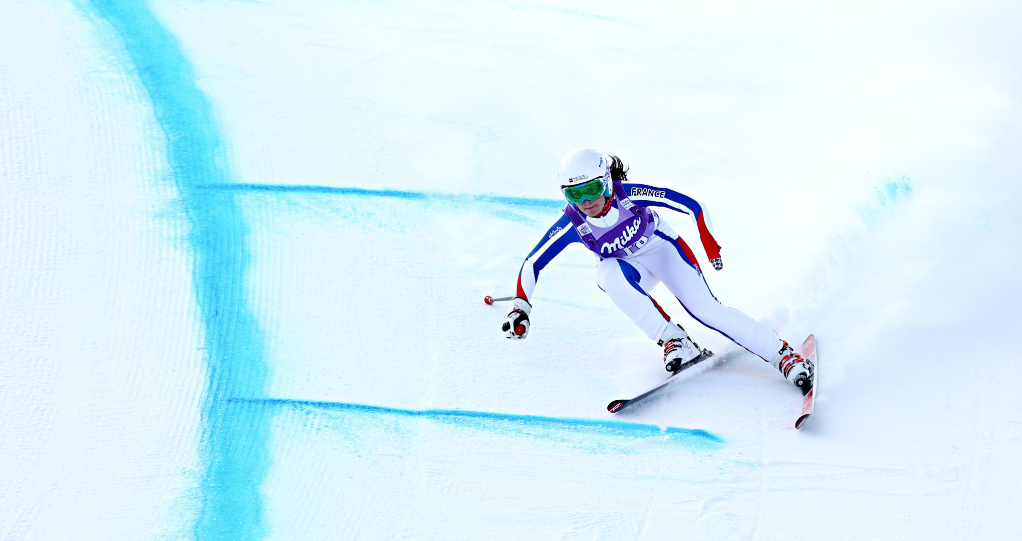 Marie Bochet won five World Cup events in January ©Getty Images