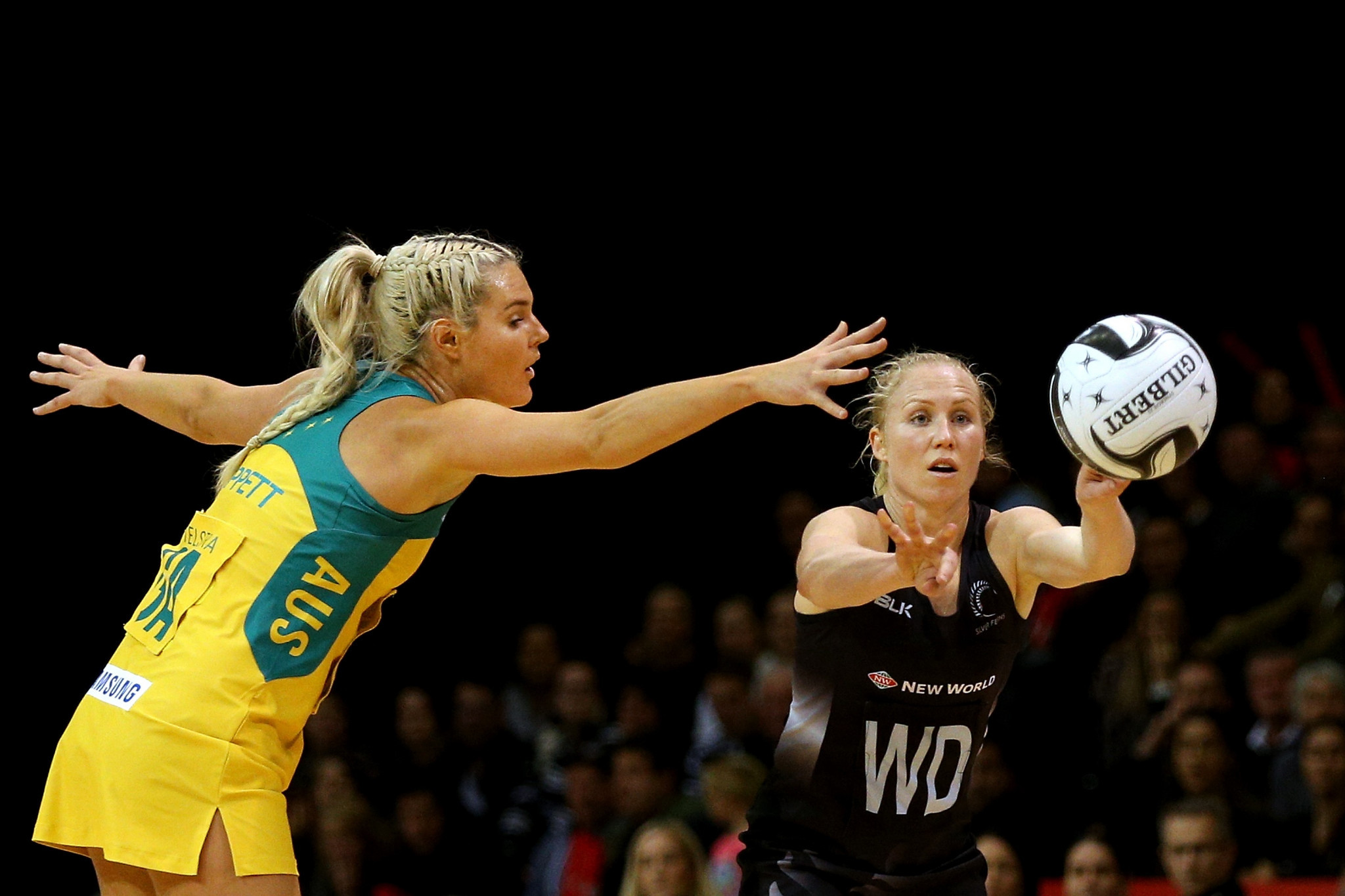 Laura Langman, right, is to be part of the live stream ©Getty Images