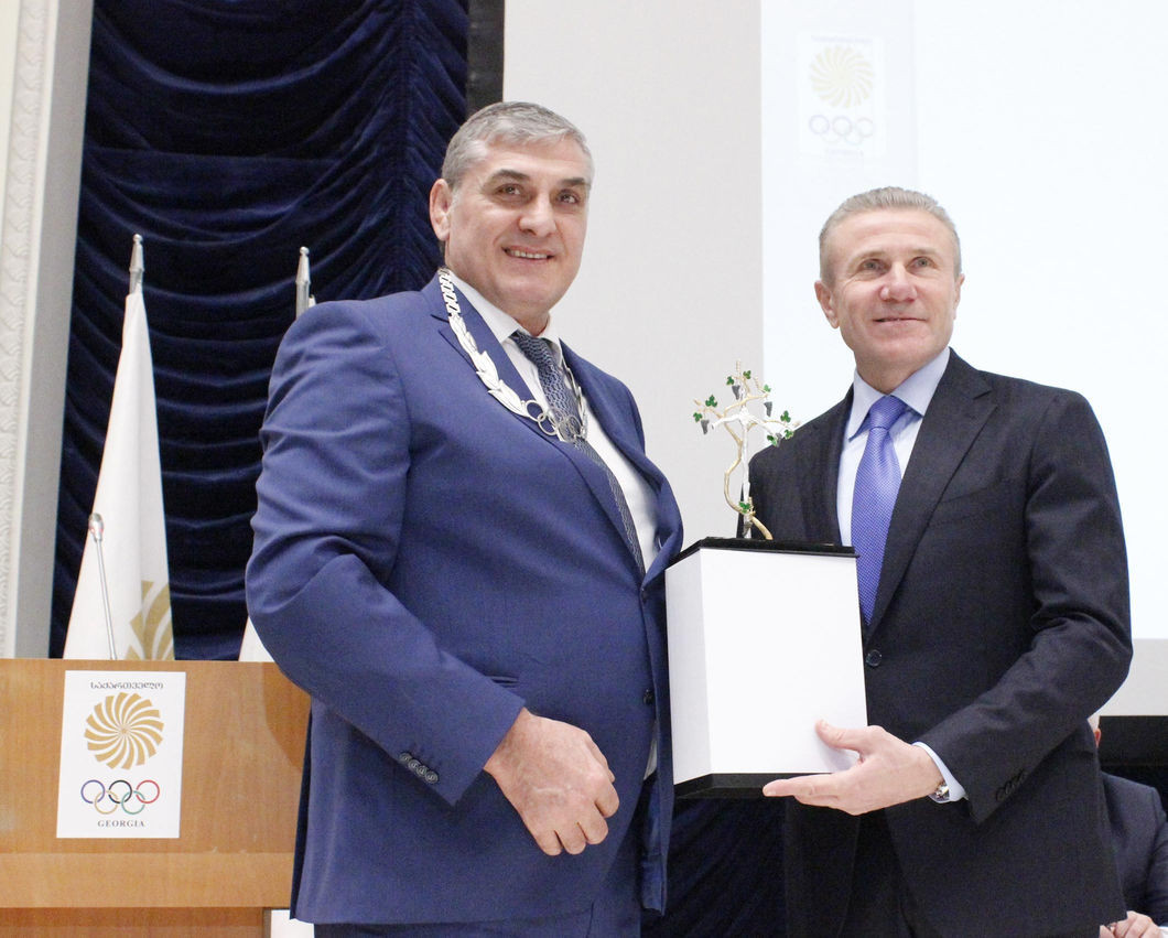 Georgian National Olympic Committee President honoured with Olympic Order