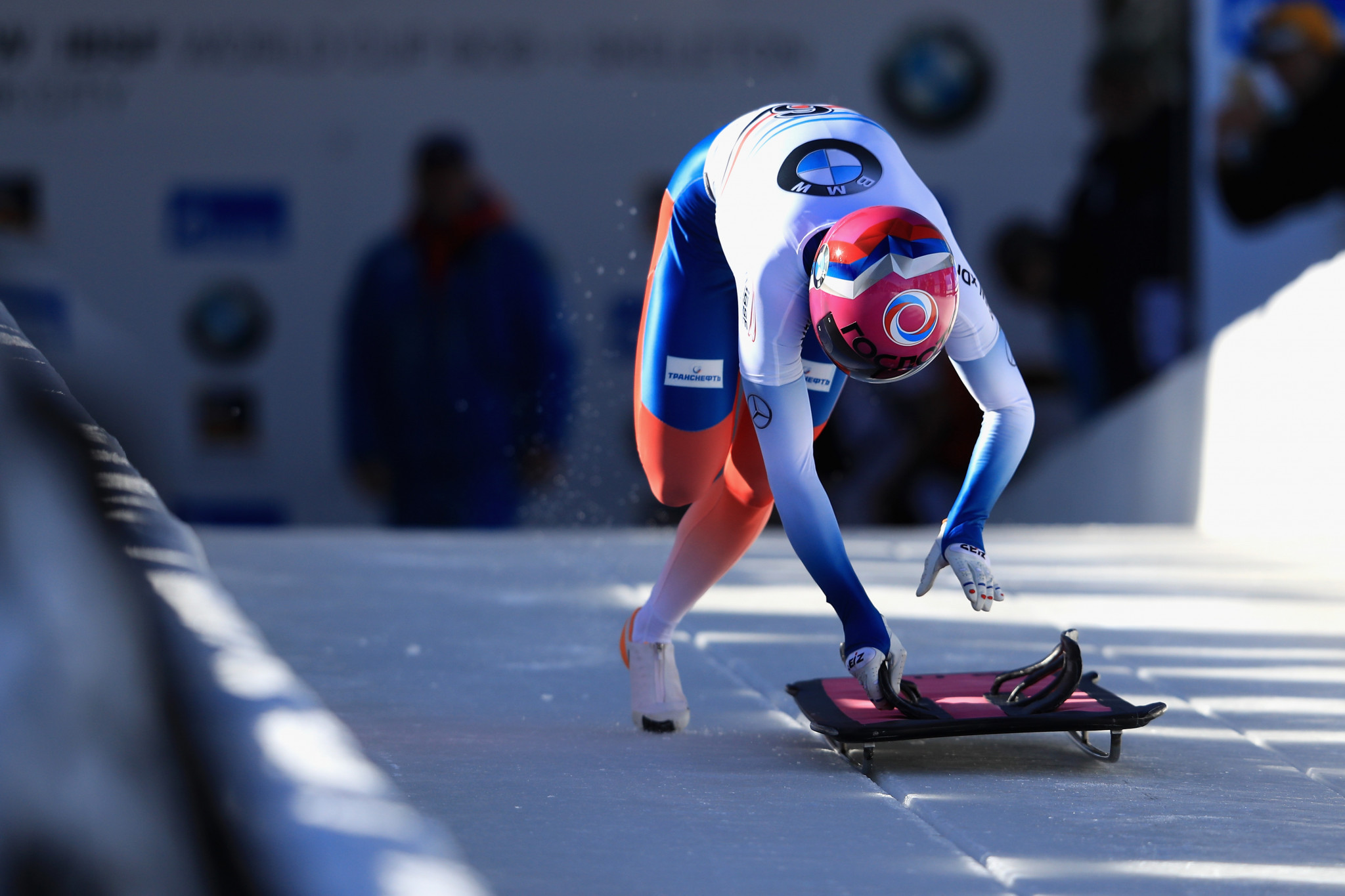 Skeleton athlete Elena Nikitina was among 11 Russian athletes sanctioned by the IOC following allegations of doing at Sochi 2014 only to then be controversially cleared by CAS ©Getty Images
