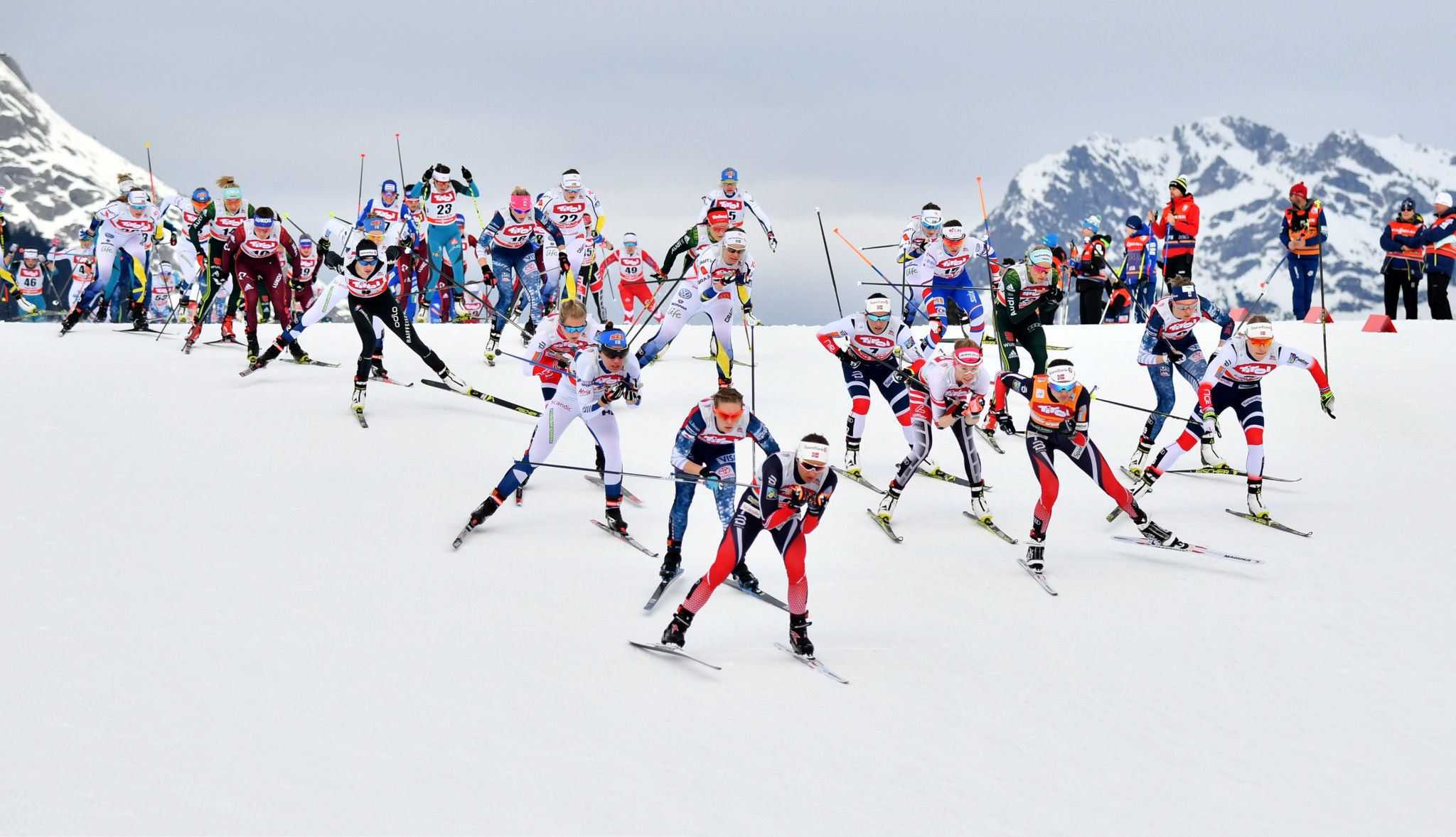 Concerns have been raised over possible blood doping amid top cross-country skiers ©Getty Images