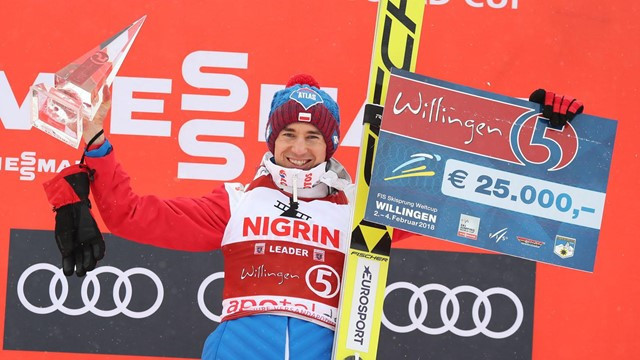 Stoch warms up for Pyeongchang 2018 ski jump title defences by winning overall Willingen World Cup