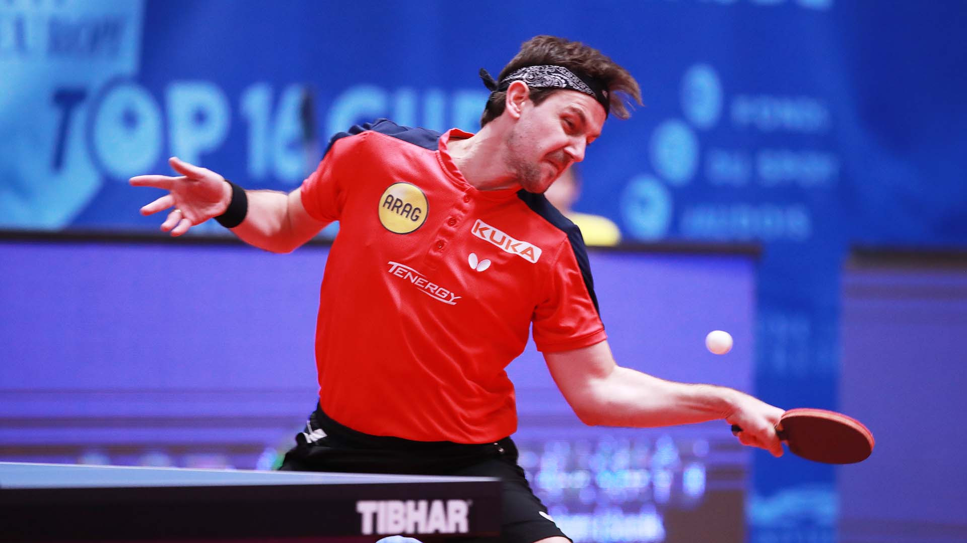Boll upsets team-mate Ovtcharov in all-German final in ITTF Europe Top 16 Cup