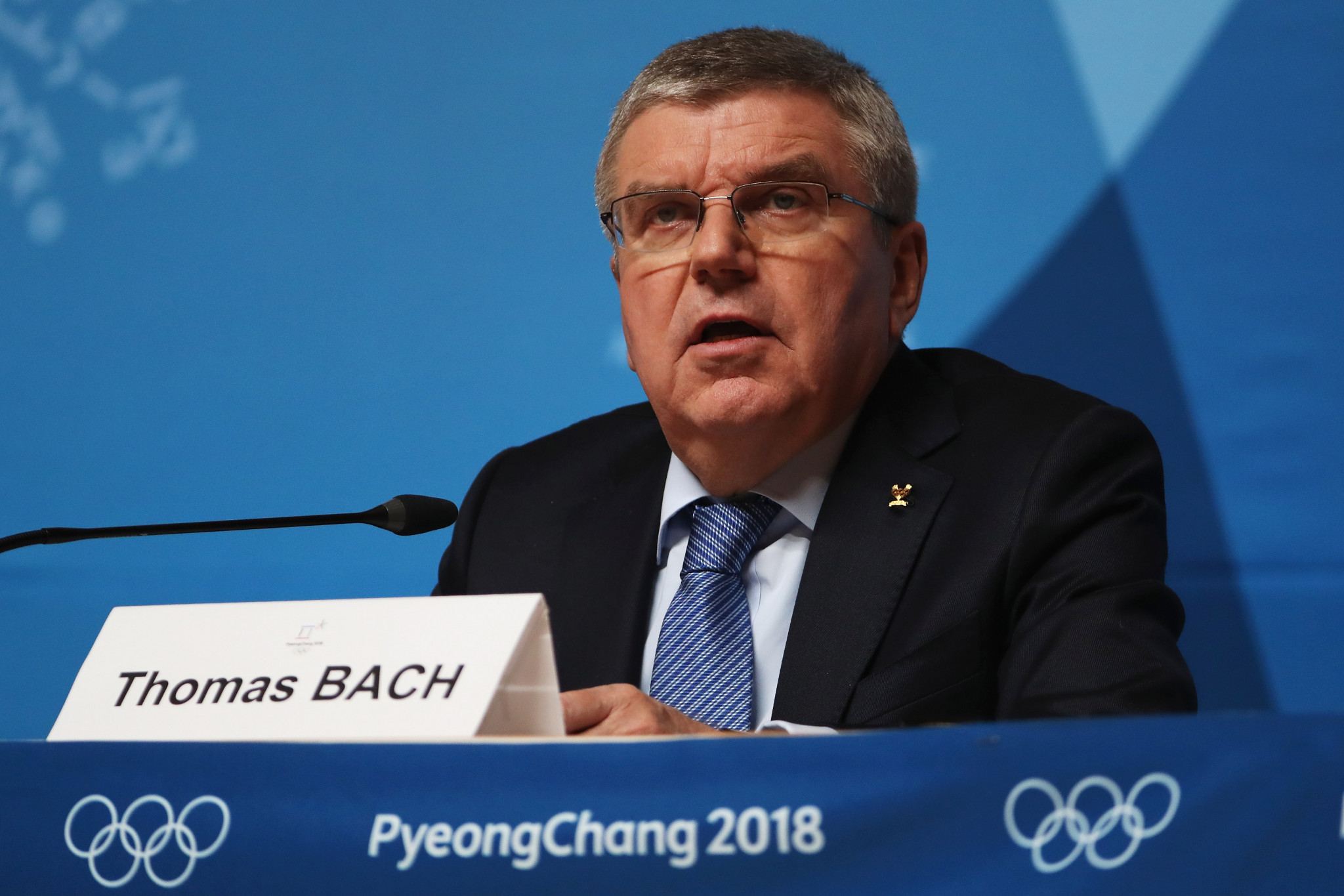 IOC President Thomas Bach admitted today Russia had not paid the $15 million fine imposed on them in December after they were found guilty of the