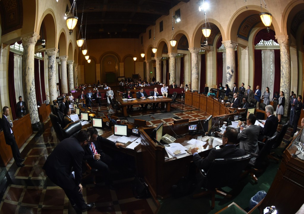 Los Angeles Committee seeking closer City Council role amid show of support for city's 2024 Olympic bid