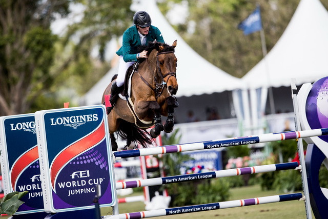 Coyle claims maiden FEI World Cup Jumping title