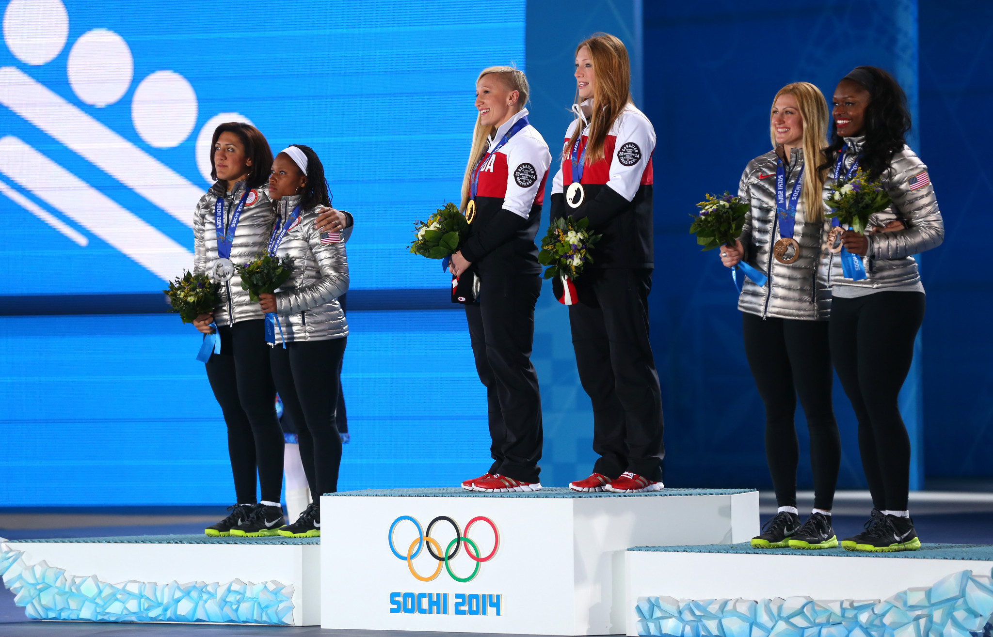Canadian athletes are set to sing a gender neutral version of their national anthem ©Getty Images