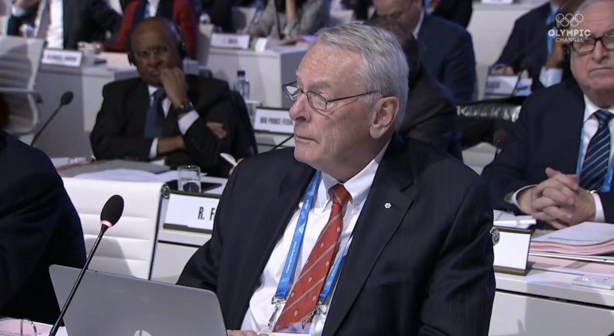 """Richard Pound has been accused of """"clairvoyance"""" by the IOC ©ITG"""