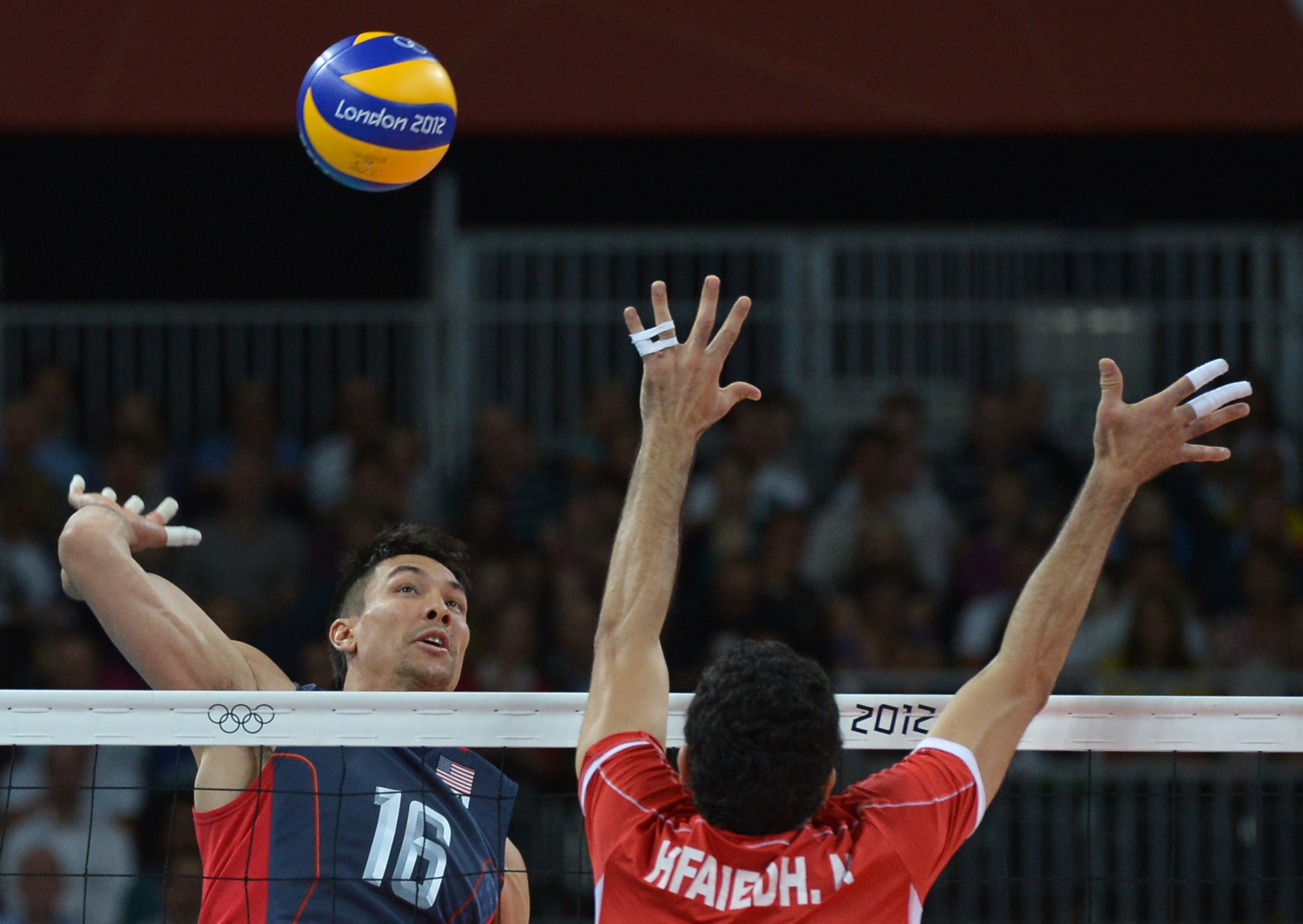 Volleyball player David McKienzie has been handed a four-year ban ©Getty Images