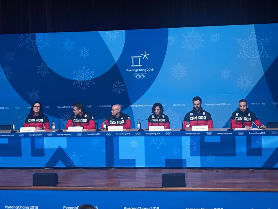 The incident was explained at a Canadian Olympic Committee briefing today ©ITG