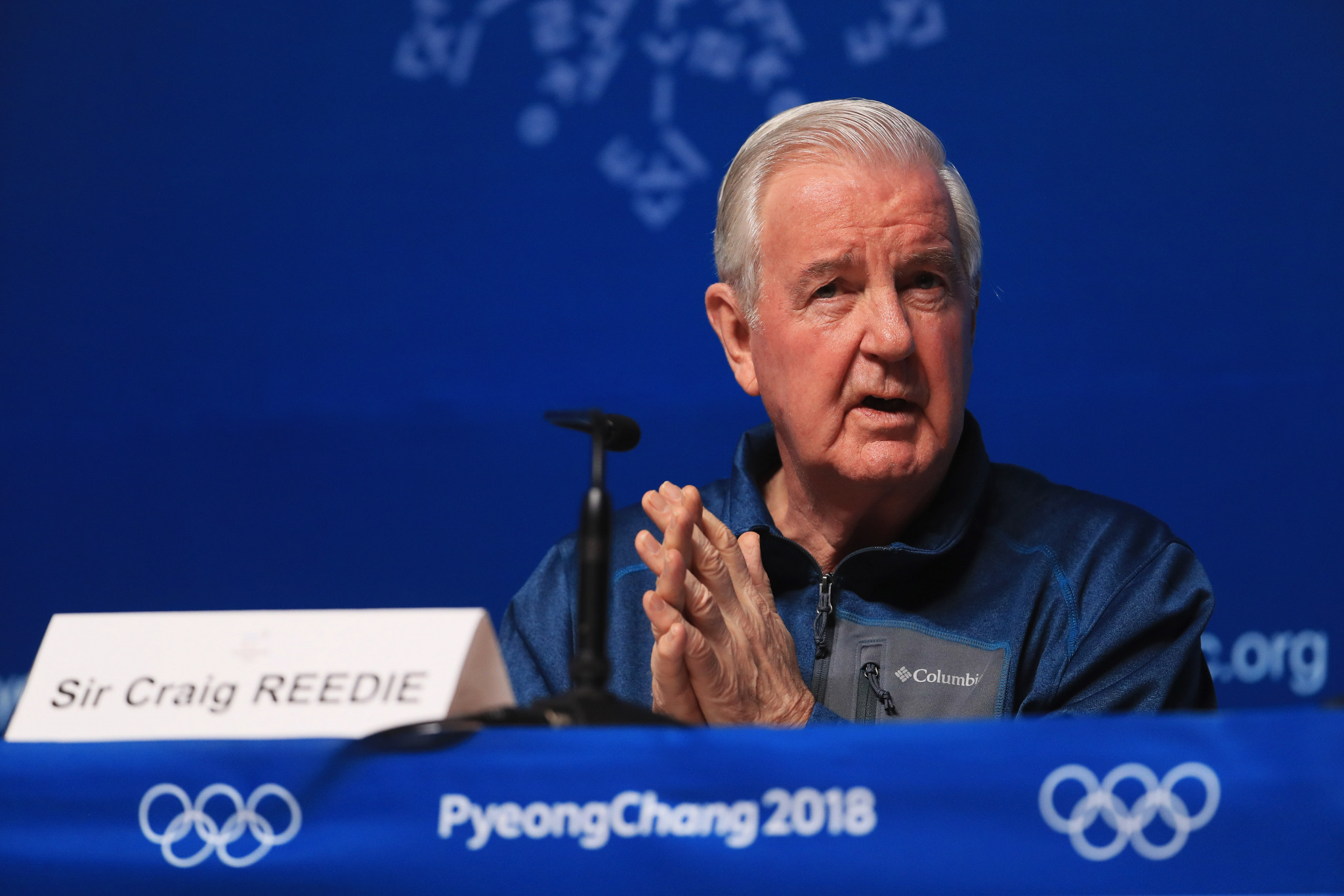 WADA President Sir Craig Reedie said every effort had been made to ensure a level playing field at Pyeongchang 2018 ©Getty Images