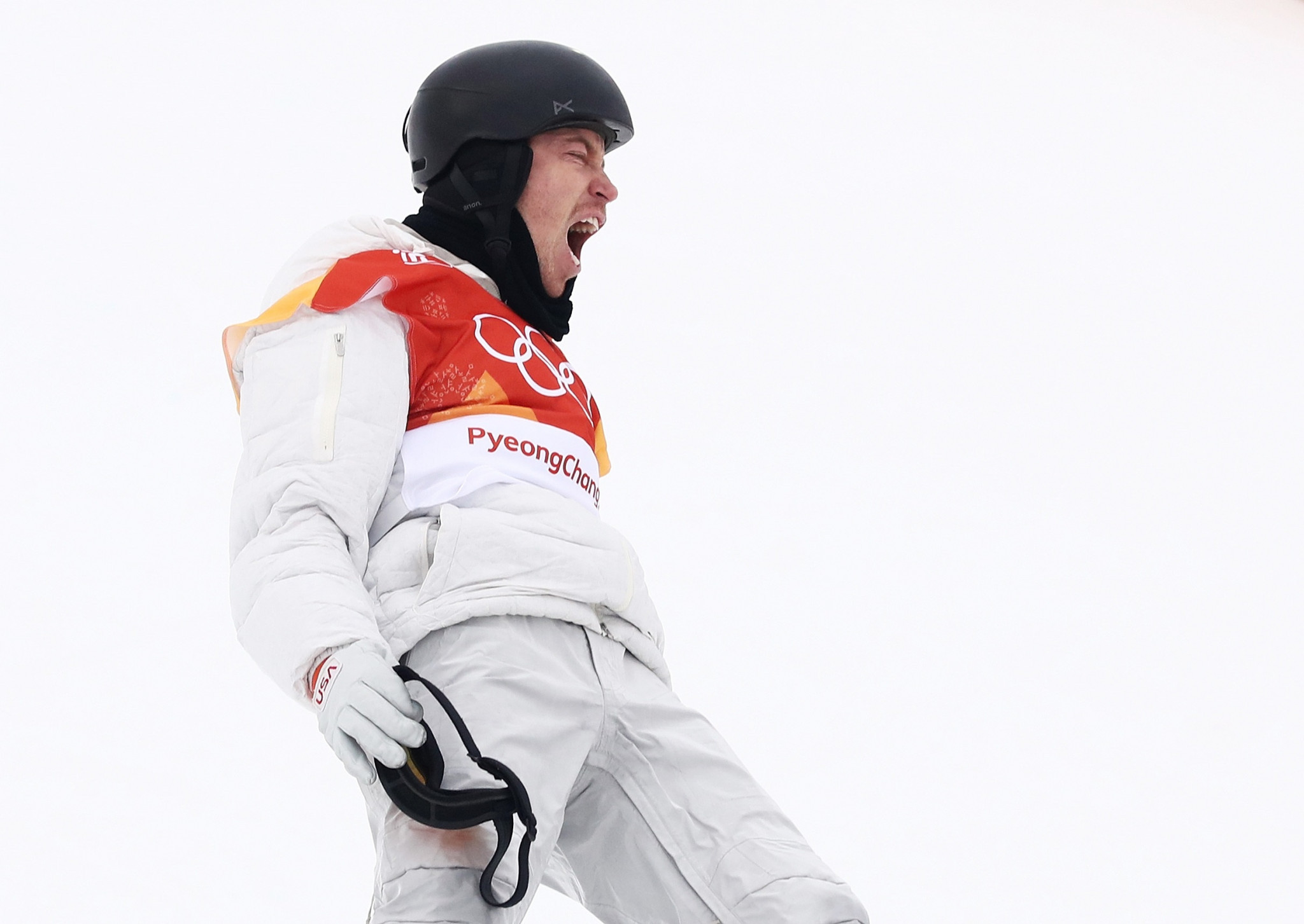 Shaun White claimed his third Olympic halfpipe snowboarding title at Pyeongchang 2018 today to secure the United States' 100th gold medal at the Winter Games ©Getty Images