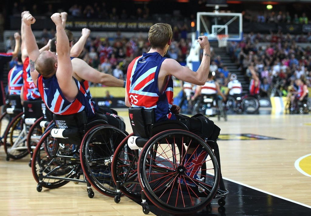 Wheelchair basketball is due to return in the UK next month ©Getty Images