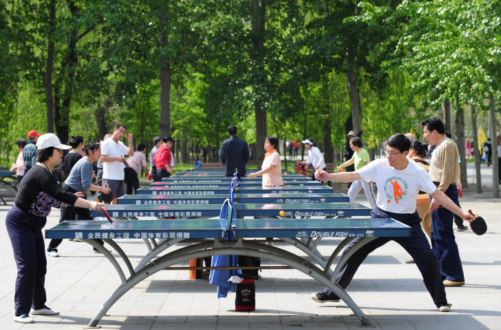More than 300 million Chinese play table tennis, with 10 million playing in official competition, and declared as the national sport by Chairman Mao, explaining their domination of the sport ©Getty Images