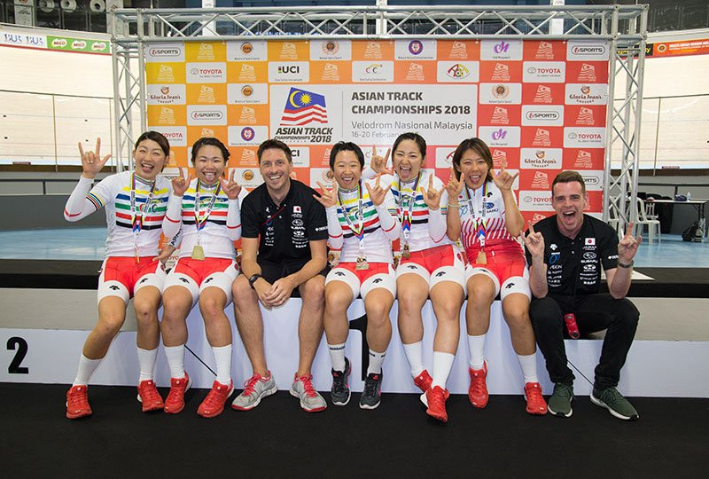 Japan earned men's and women's team pursuit titles ©Twitter/Japanese Cycling Federation