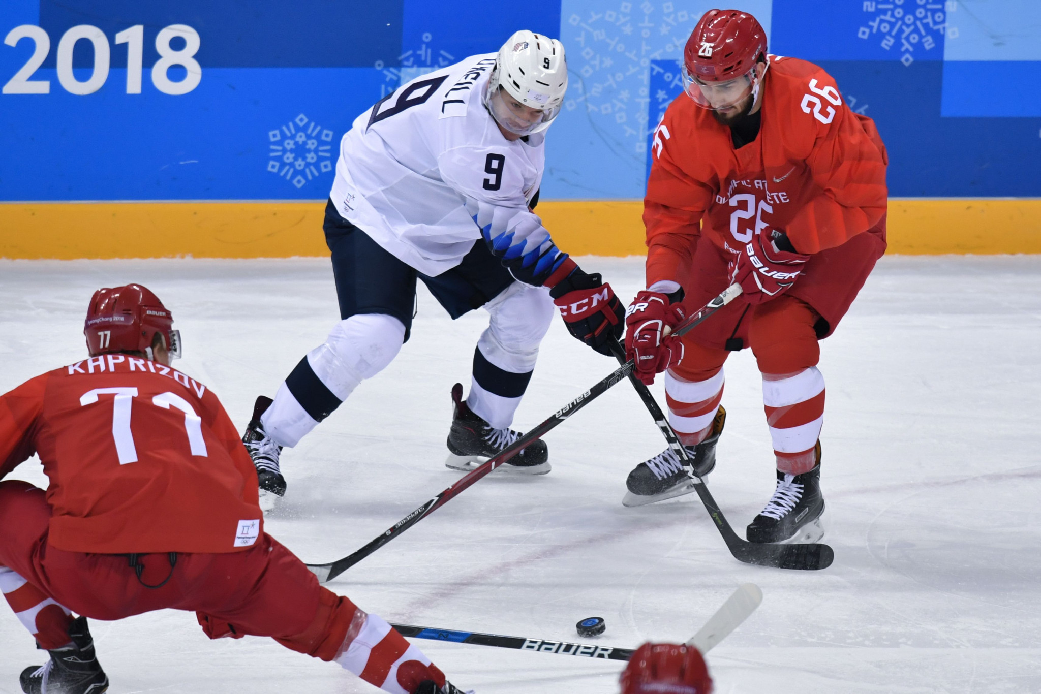 Russian players outclassed their American opponents in a 4-0 victory ©Getty Images
