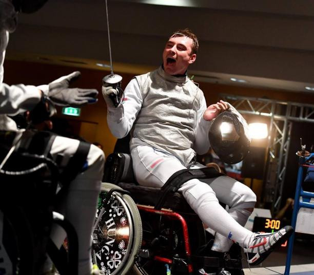 More home glory for Osváth at IWAS Wheelchair Fencing World Cup in Eger