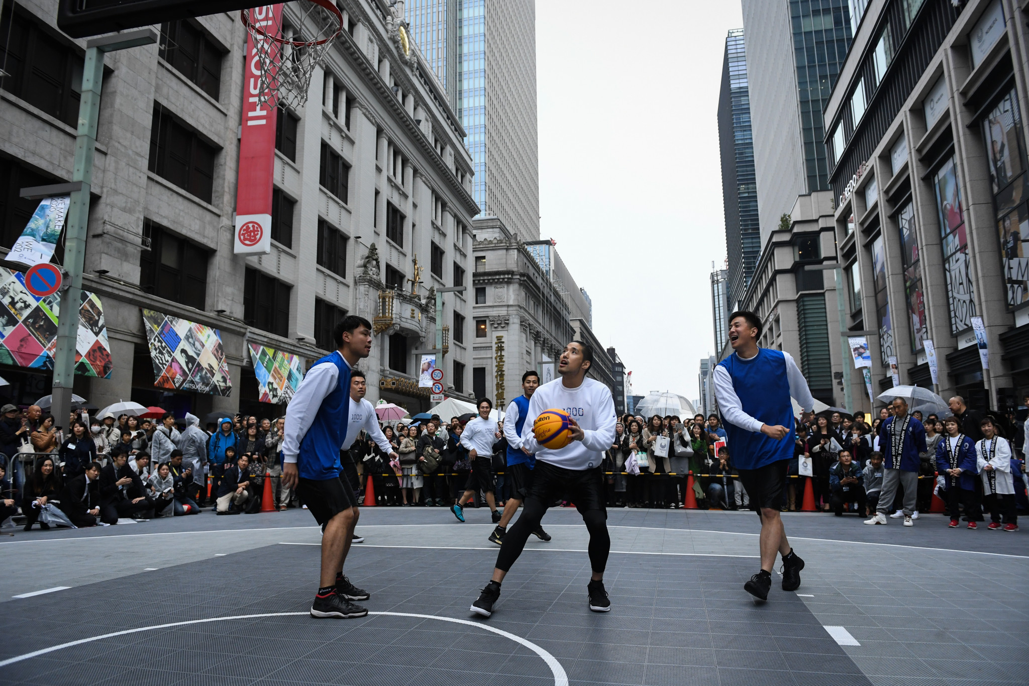 3x3 basketball is among new urban disciplines due to feature at Tokyo 2020 ©Getty Images