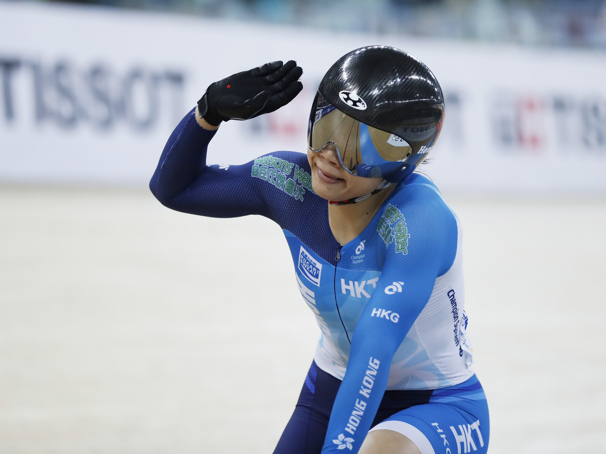 Lee Wai Sze claimed her women's keirin title for the fifth time ©Getty Images
