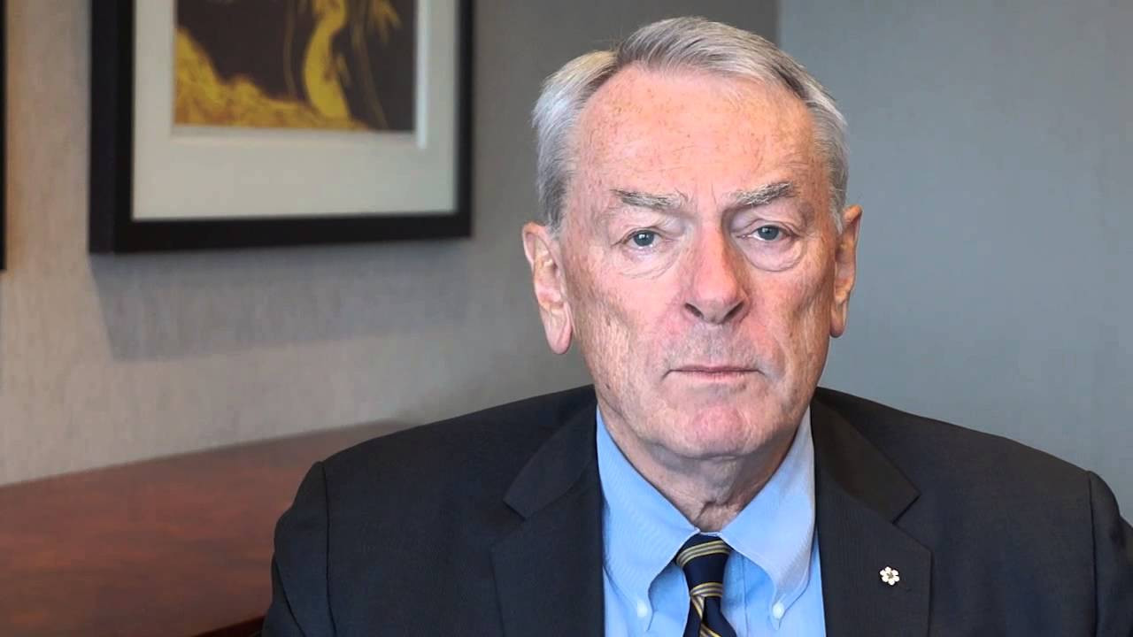 Richard Pound has been warned that he does not have to remain an IOC member ©YouTube