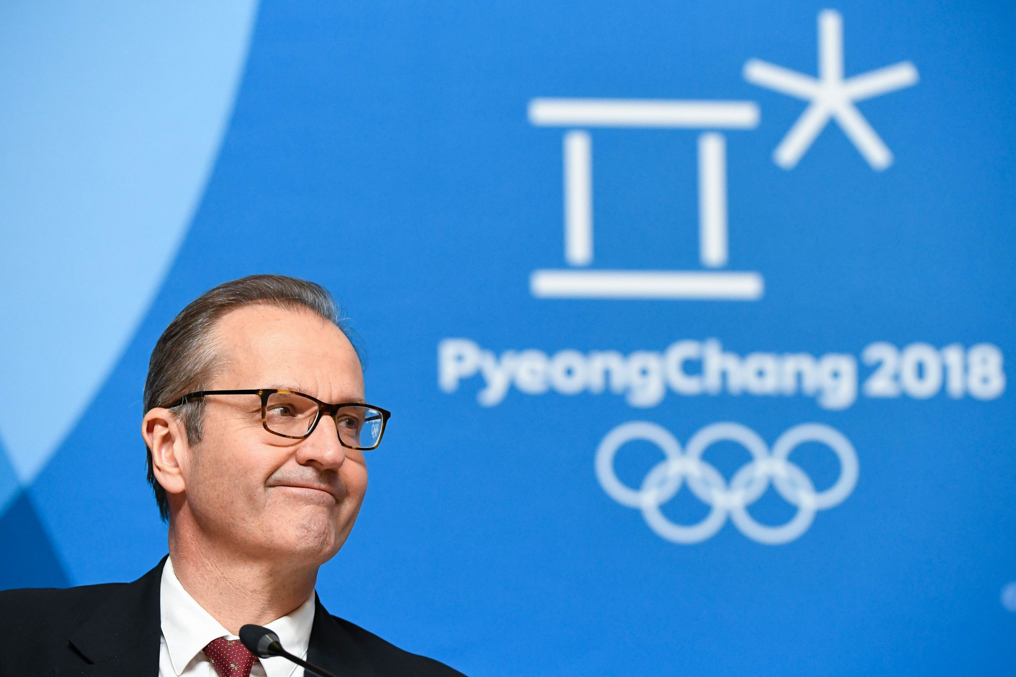 Mark Adams reminded Richard Pound that he is not being forced to remain on the IOC today ©Getty Images