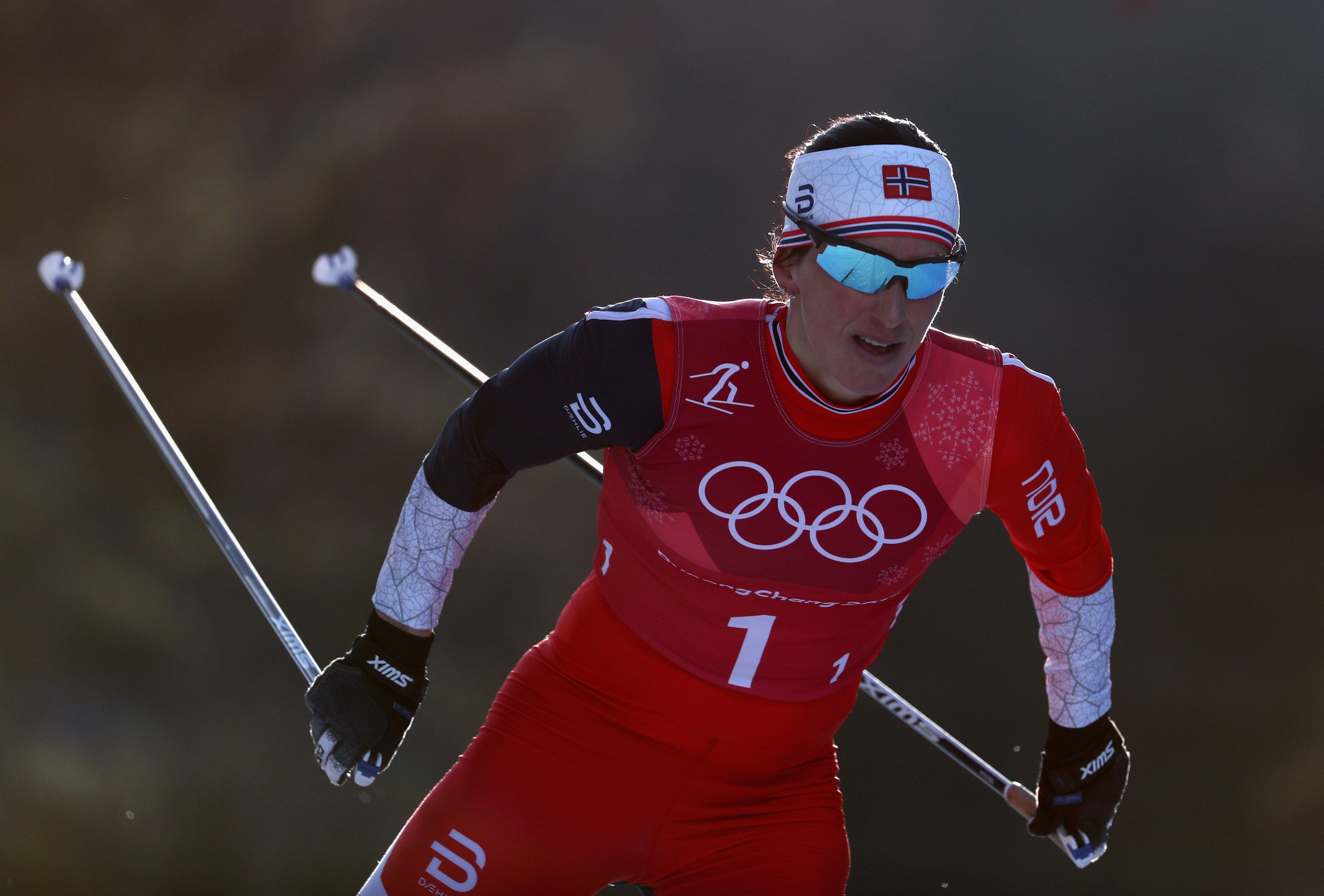 Norway's Marit Bjørgen has become the most decorated Winter Olympian of all time with her 14th medal ©Getty Images
