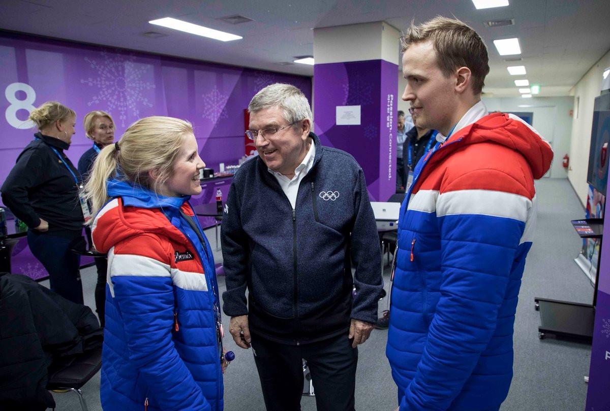 Kristin Skaslien and Magnus Nedregotten will receive their Olympic bronze medals tomorrow ©IOC